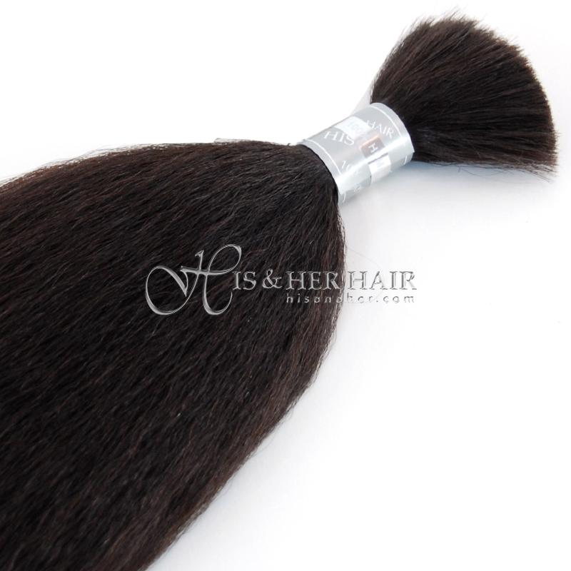 50% Italian Mink® Kinky Straight for Braiding