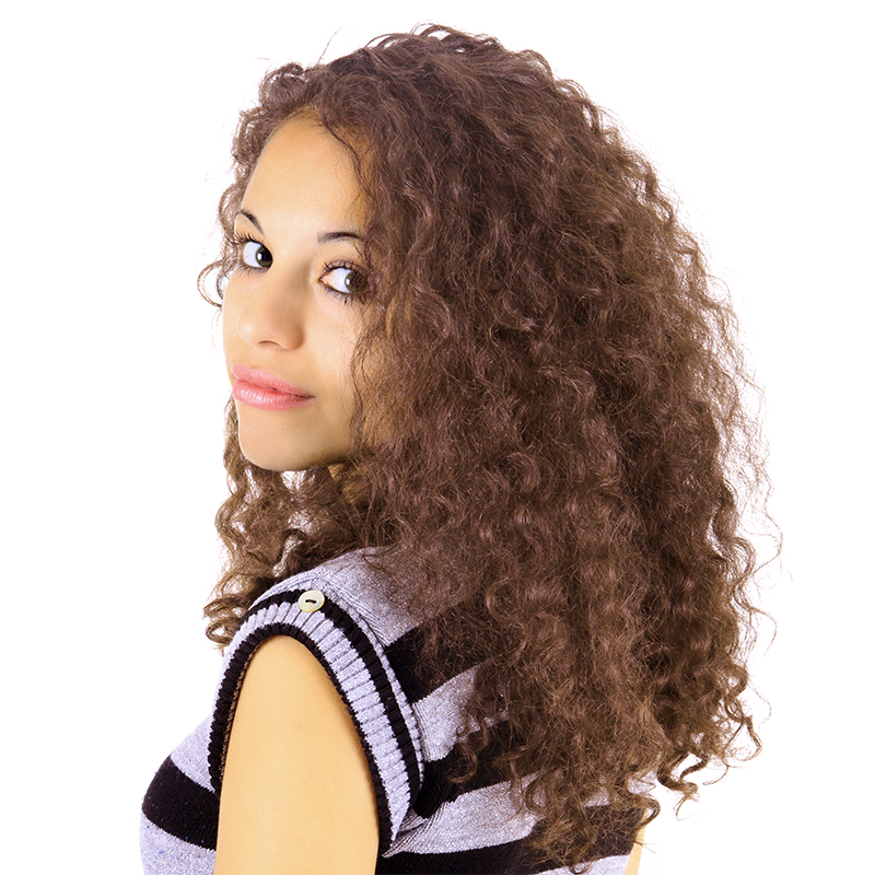AMBER - EUROPEAN WAVE LACE FRONT
