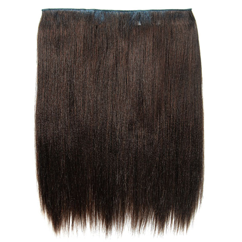2 Layered Clip Weave - Natural Perm Straight