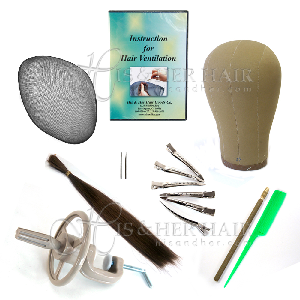 Natural hair extensions human hair wigs kinky twist weaving ventilation kit with dvd pmusecretfo Images
