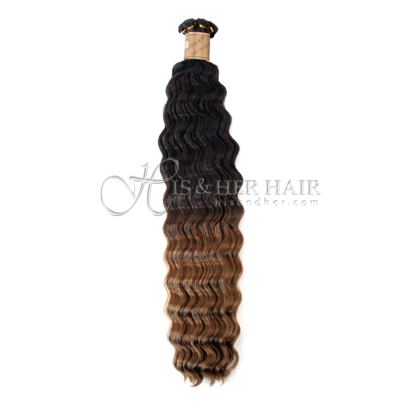 Cuticle®  - Handtied Weft Water Wave Ombre