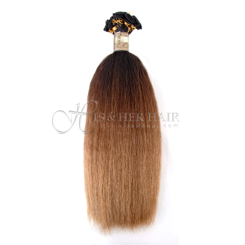 Cuticle® - Handtied Weft Kinky Straight Ombre - SALE