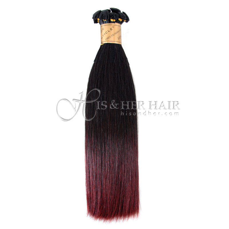 Cuticle®  - Handtied Weft Silky Straight Ombre