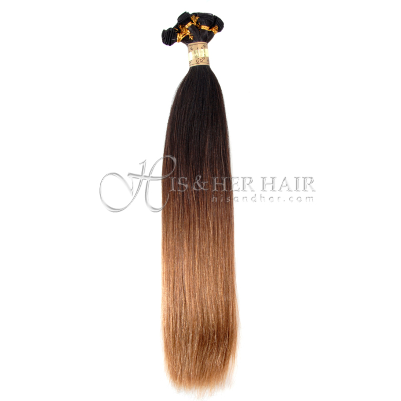Cuticle® - Handtied Weft Natural Perm Straight Ombre - SALE