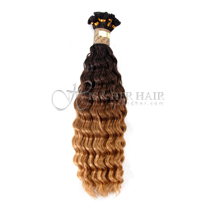 Cuticle® -  Handtied Weft Water Wave Ombre - SALE