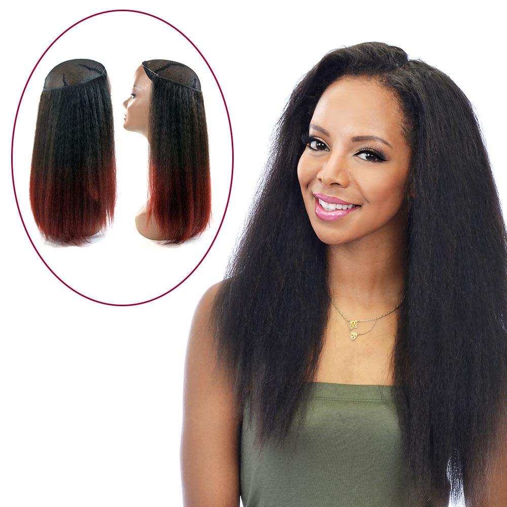 "14"" Magic Extensions in Kinky Straight - ITALIAN MINK® 100% Human Hair"