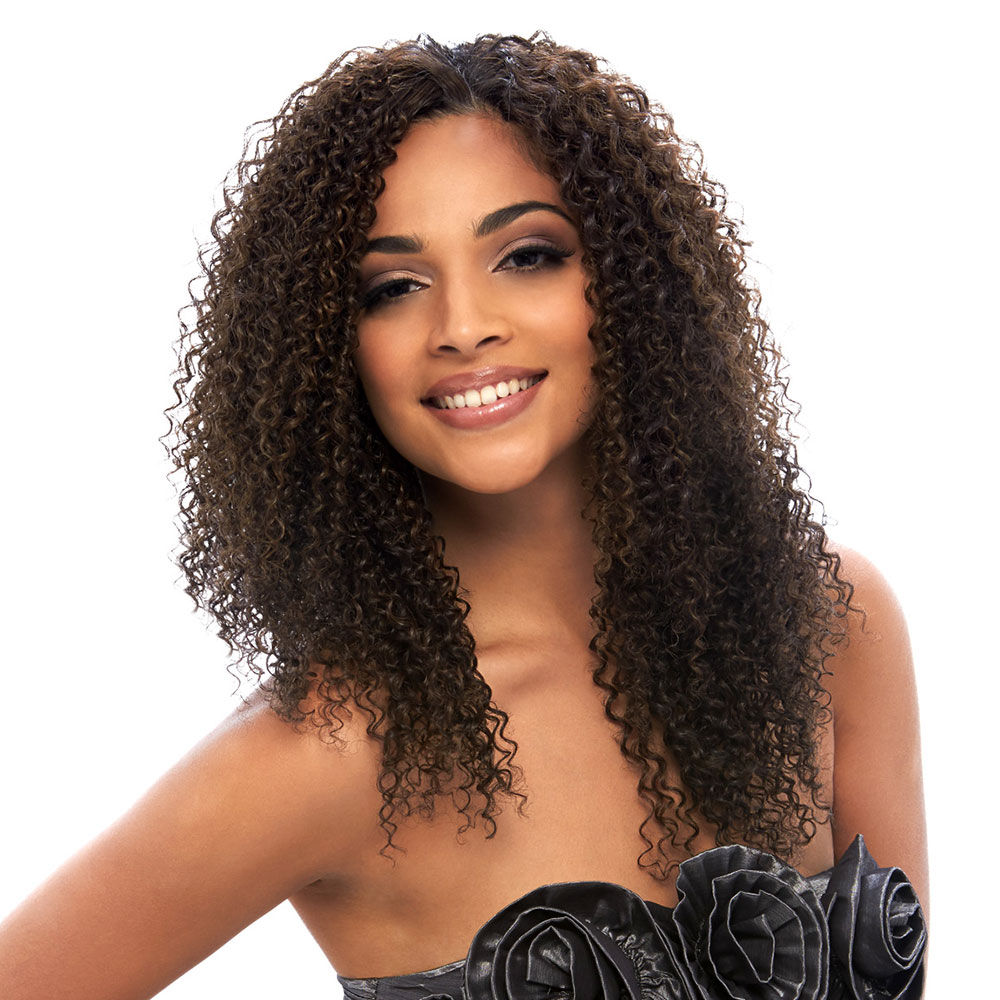 "Clip Set Bohemian Curl in 14"", 16""  - 4 Pcs."