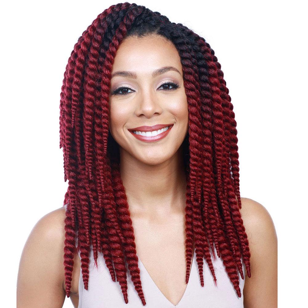 Natural Hair Extensions Human Wigs Kinky Twist Weaving