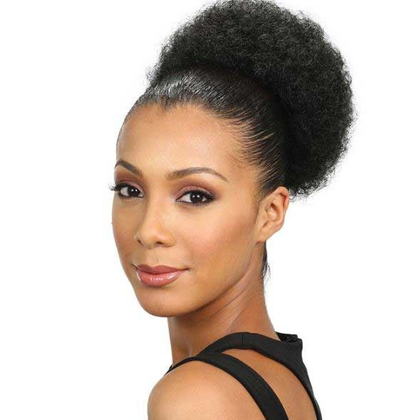 AFRO POM - SMALL - SYNTHETIC PONYTAIL