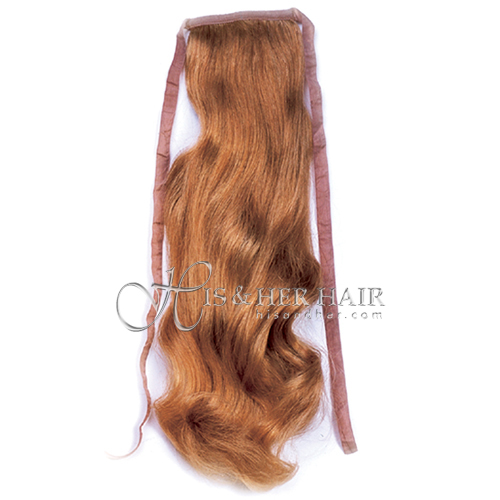 "Ponytail Human Hair - Bodywave 18"" - Sale"