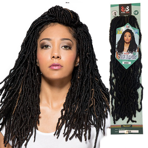 SYNTHETIC NU LOCS - 18""