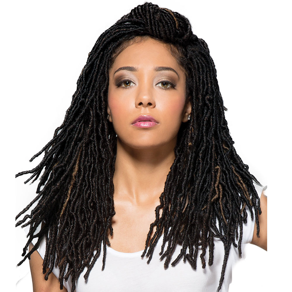 """SYNTHETIC NU LOCS - 18"""""""