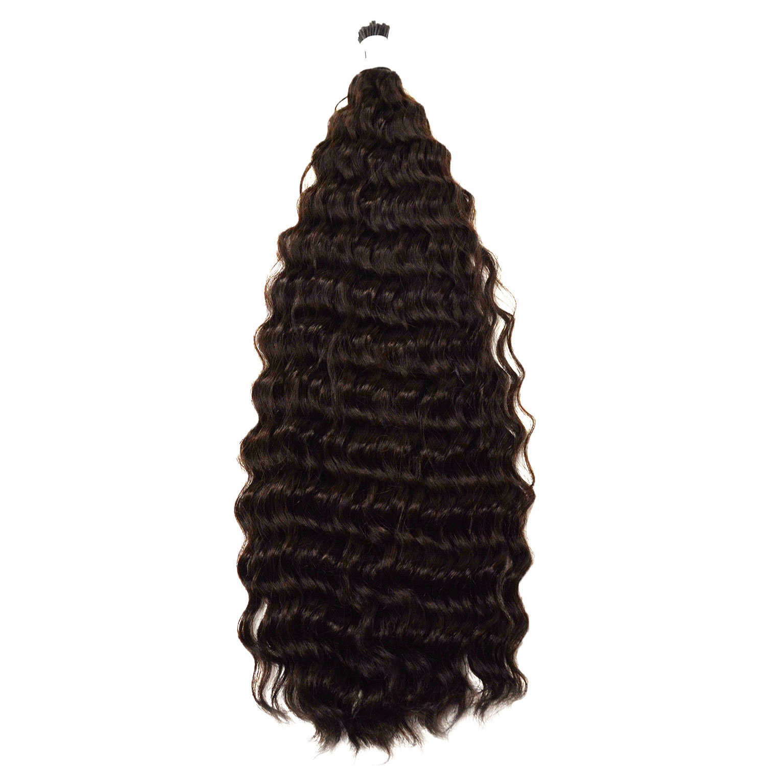"""[SPECIAL-I-TIP-WWLL-2]HM-22"""" Pre Glue I Shape Water Wave 20-22"""""""