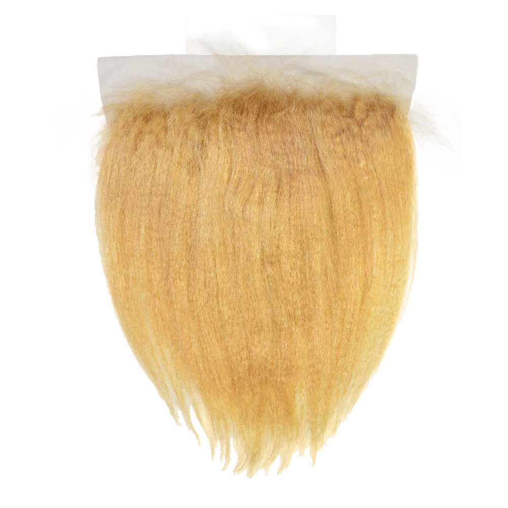"""Lace Front - Kinky Straight 16"""" (13""""x6"""")"""